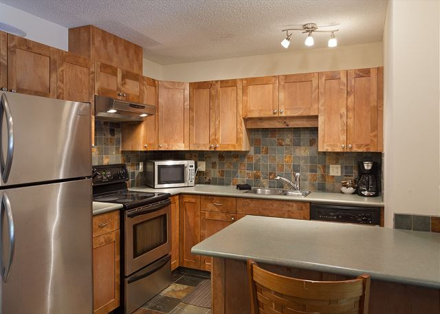 Updated Kitchen with all the comforts of home