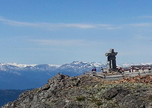 Top of Whistler Mountain