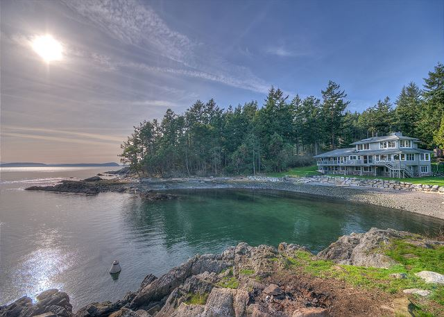 Welcome to Point at Obstruction Pass!  One of our finest properties displays the unique harmony between luxury and the wild beauty of the Islands.  Don't look now, but you have finally arrived.