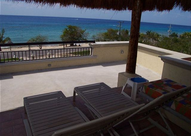 And there is always the great out of doors. Most likely, that's why you came to Cozumel in the first place. Villa Las Uvas' beach offers some of the best snorkeling in Cozumel. The entire roof top is available to enjoy the incredible views. There are loun