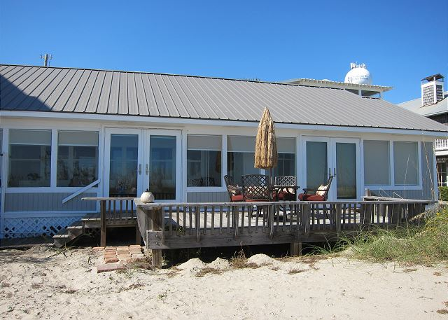 Ongekend The Tybee Trolley at 1 Second Place 1008-114207 - Tybee Cottages YU-91